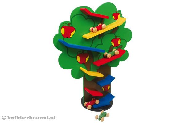 De Cascadenboom van Woodtoys.