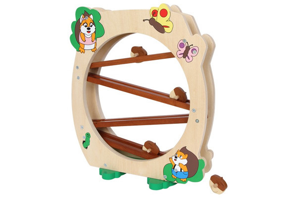 De Eekhoornboom van Woodtoys.